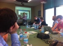 Monday, starting presentations at ESA